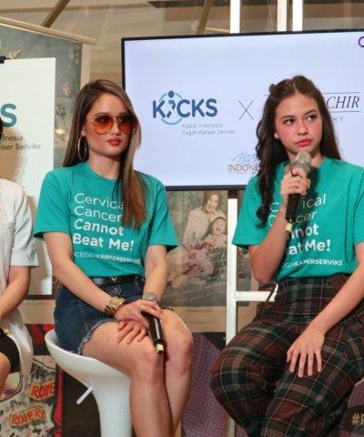 Cinta Laura & Yuki Kato, Pentingnya Cegah kanker Serviks