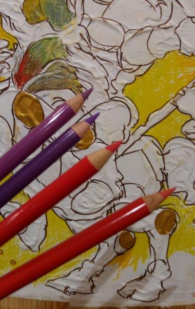 111 Tahun Polychromos Warnai ke 3 Karya Pelukis muda