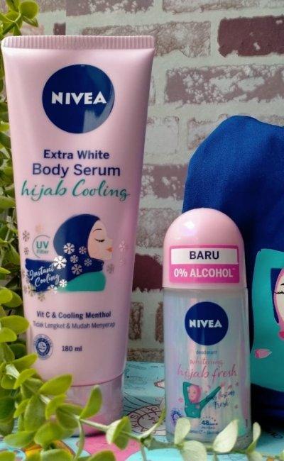 Manfaat Berjemur Sinar Matahari Pagi, Dengan Rangkaian Nivea Hijab Series
